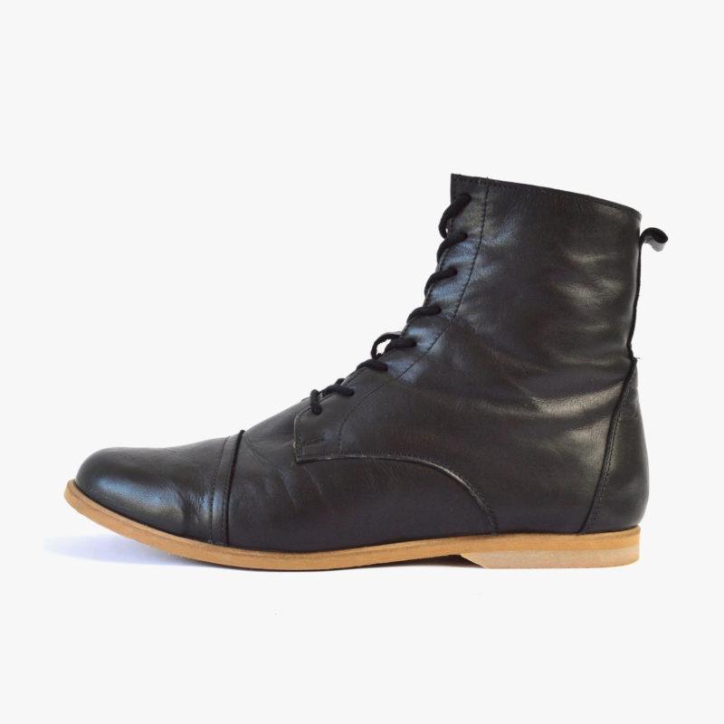 faire Leder Stiefel Boots Herren Damen Unisex