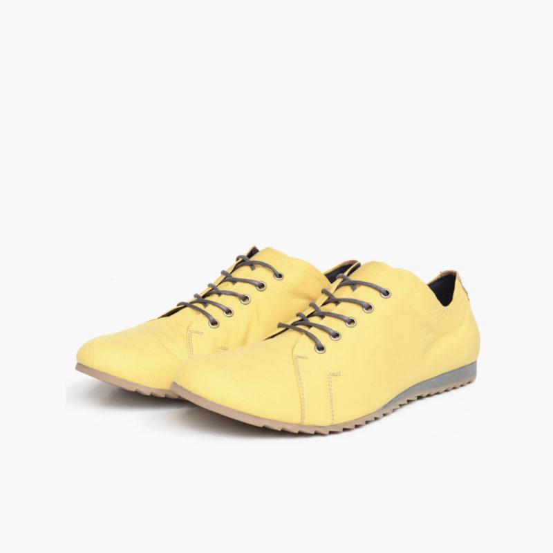 vegane warm gefütterte braune Stiefel von Sorbas Shoes Berlin