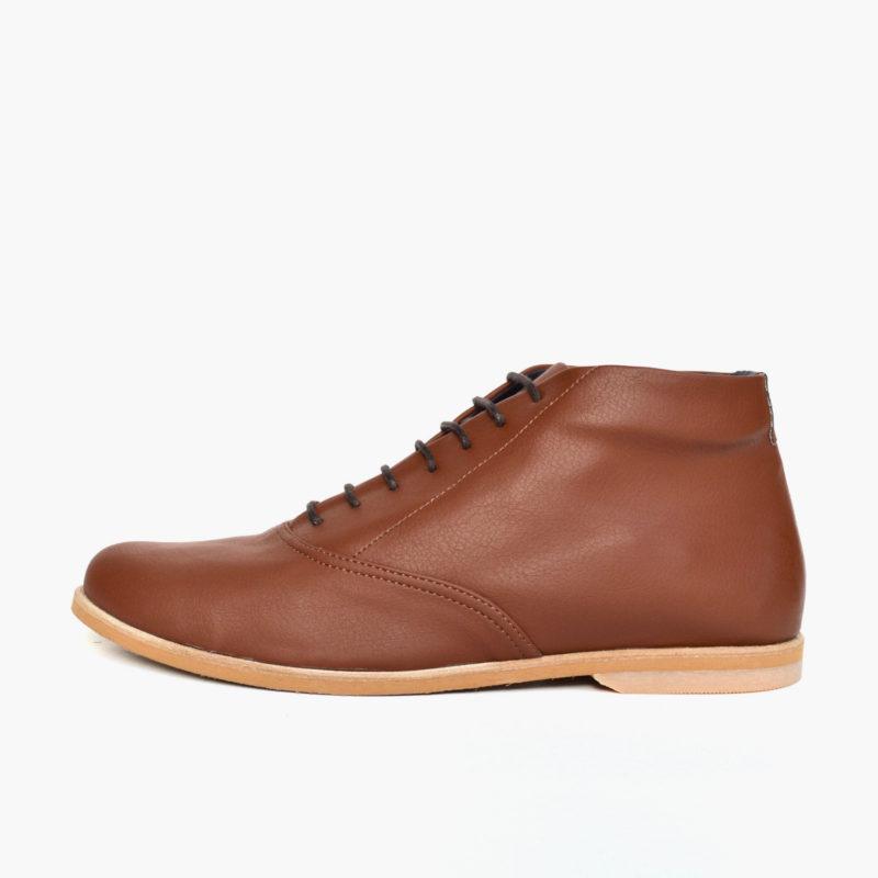 boots brown vegan