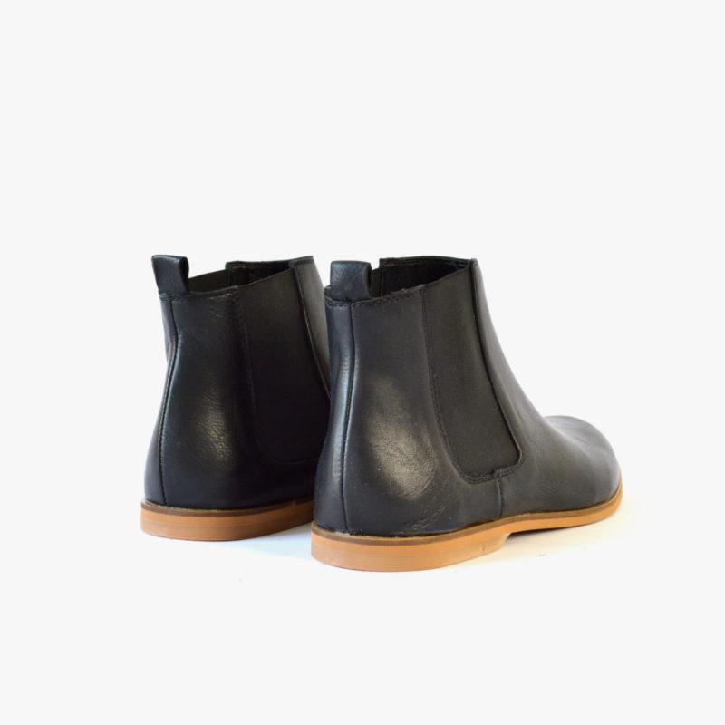 fair ankle boots women men unisex black