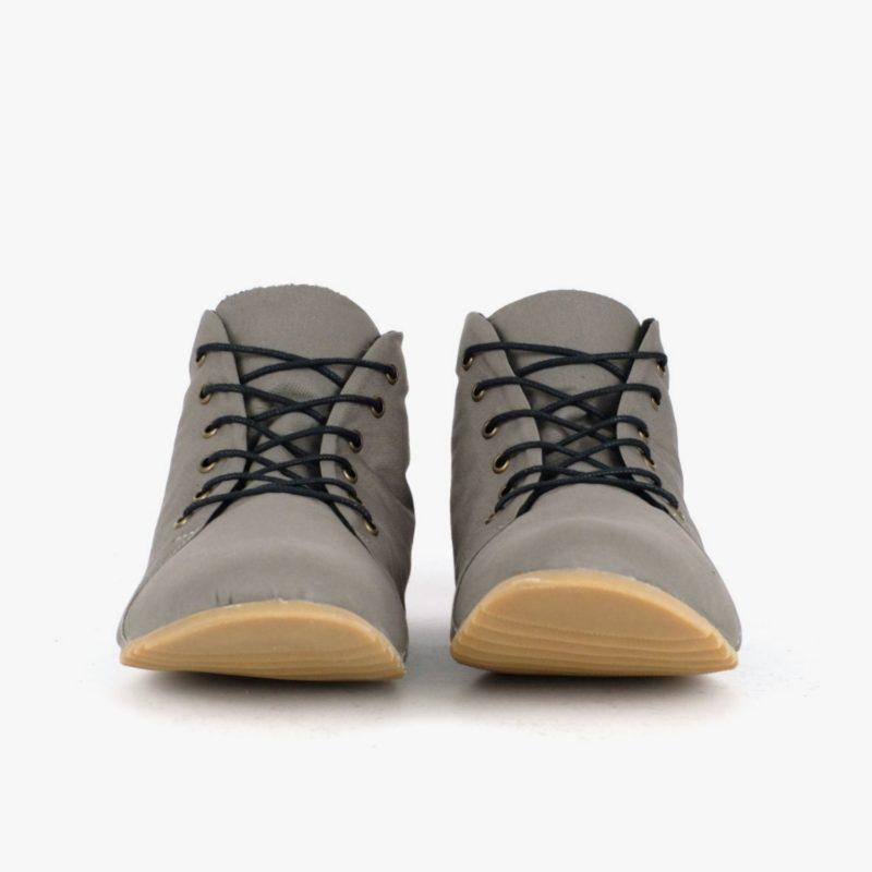 sneaker high-top grau