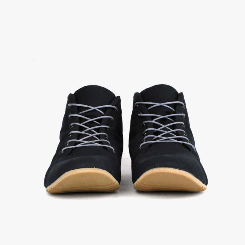 sneaker schwarz high-top