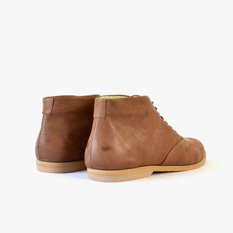 brown ankle boots women men winter fall