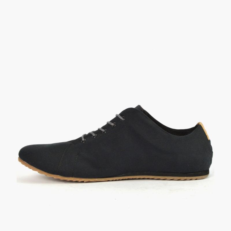 vegane schuhe schwarz damen herren unisex sneaker low cut