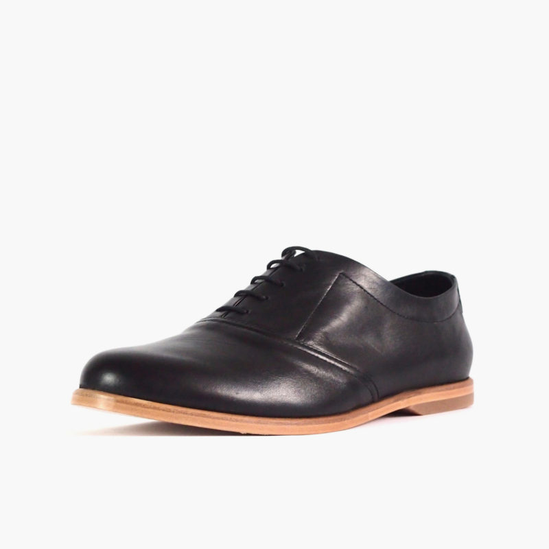 oxford shoes ethically made mens black