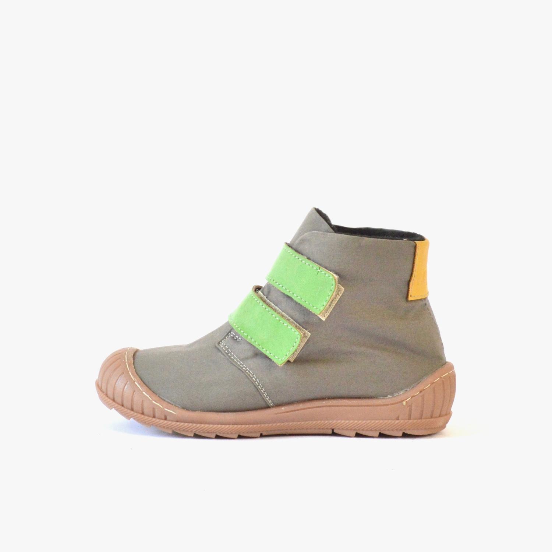 2db3e8a572fb55 Kids One Grey + Green   Yellow – SORBAS Shoes Berlin