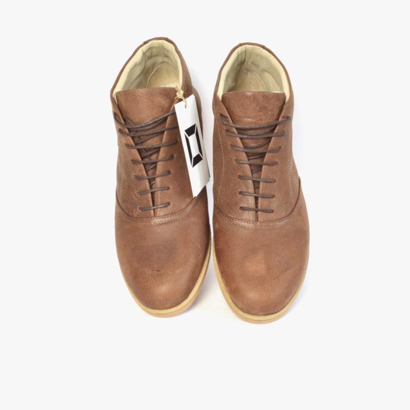 braune stiefeletten damen herren unisex ankle boots