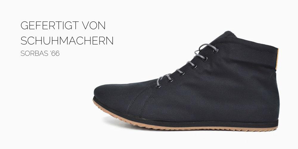 vegane schuhe high-top  sneaker schwarz