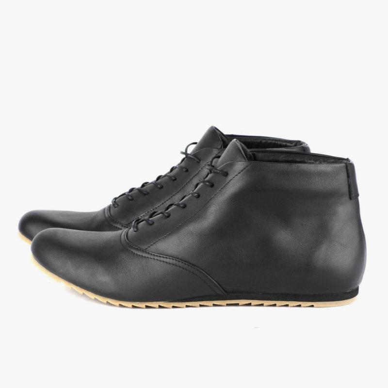 sneakers black high-top sneaker