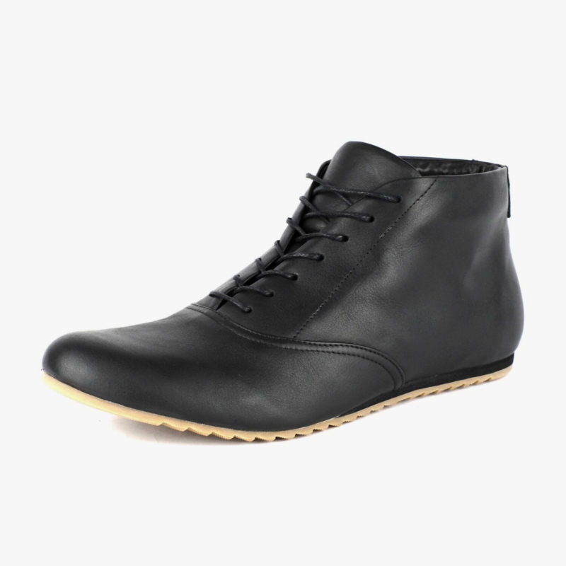 sneakers ankle boots black