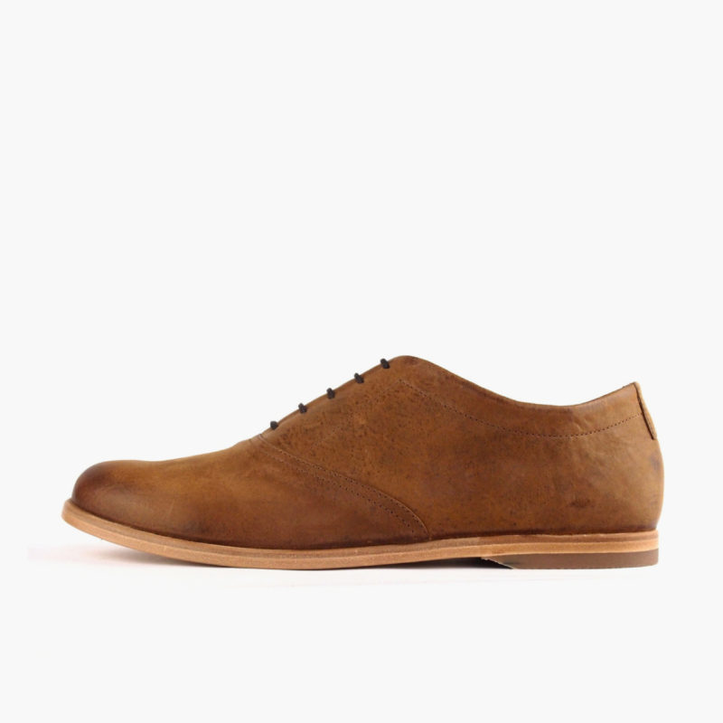 ethically made oxford shoes brown