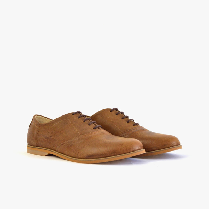 ethically made brown oxford unisex