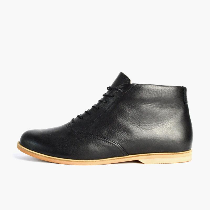 stiefeletten damen herren schwarz sorbas shoes
