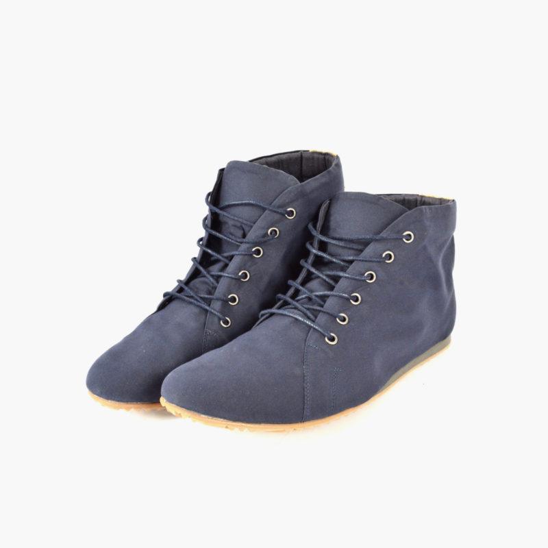 vegane schuhe blau herren damen unisex high top sneaker