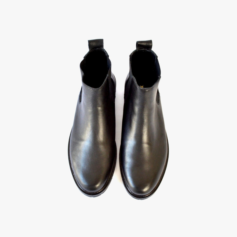 chelsea boots unisex schwarz