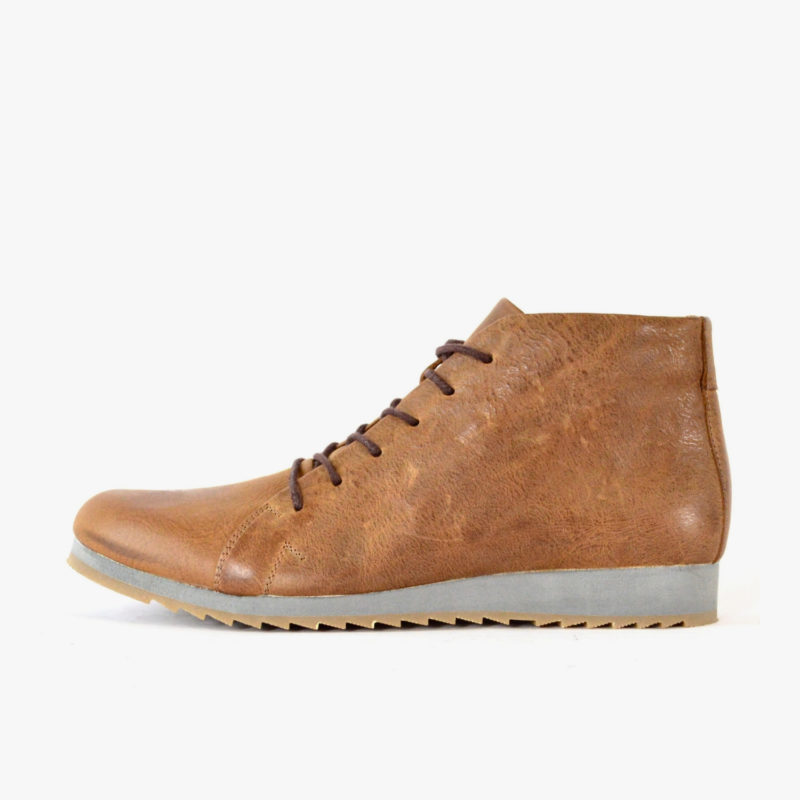 SORBAS Shoes 86 Brown sustainable leather sneakers