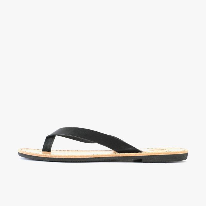 SORBAS Sandalen Flip flops fair schwarz