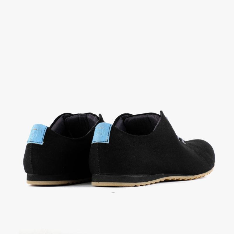 sneaker schwarz blau unisex