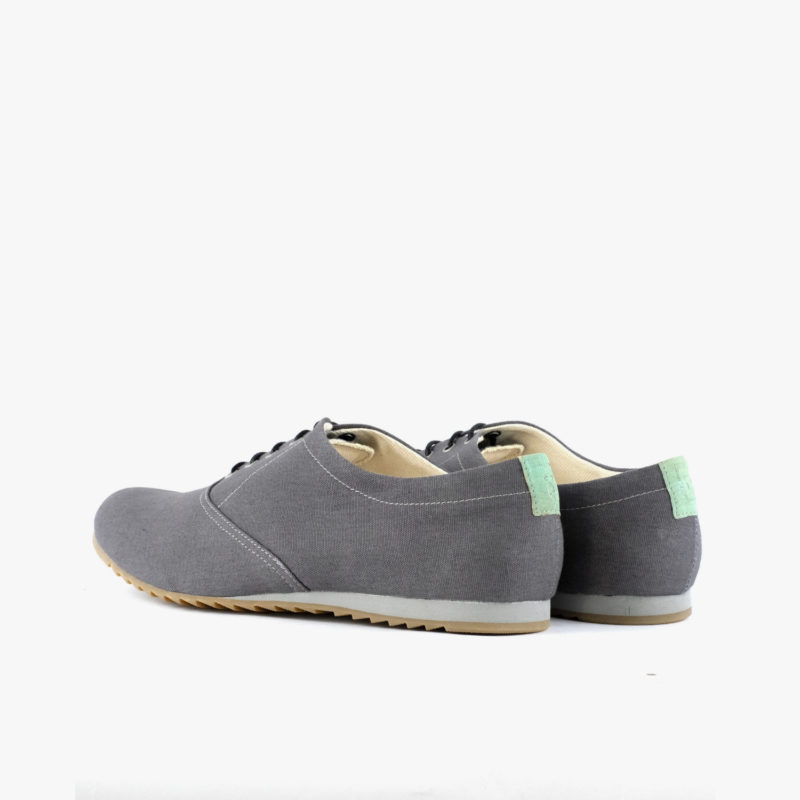 vegan shoes grey sustainable