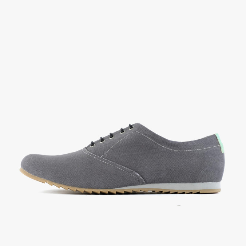 vegan shoes oxford grey