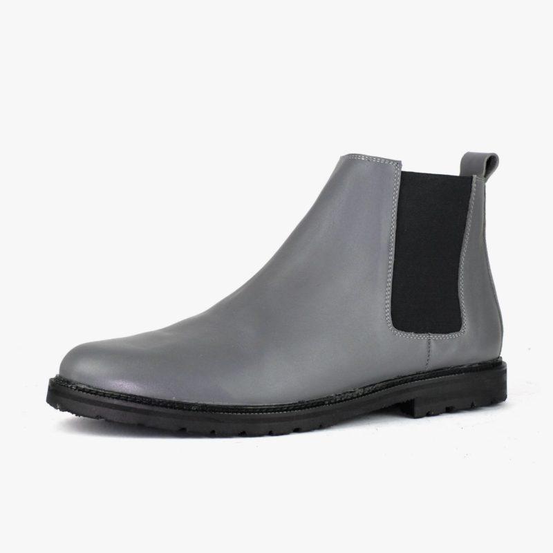 Chelsea Boots grau unisex