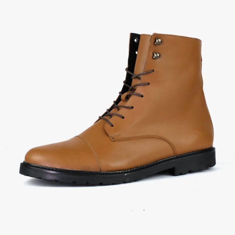 Work Boots Unisex Braun