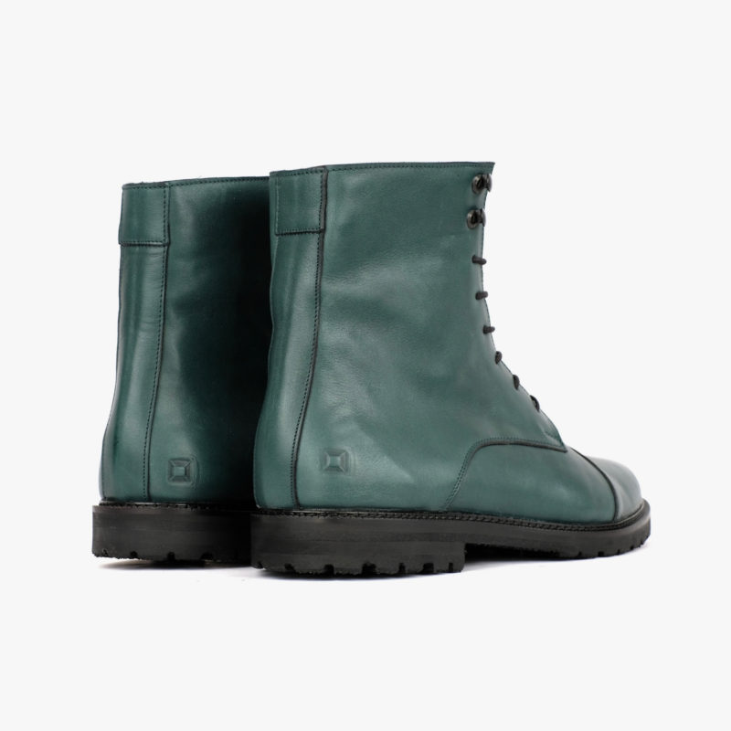 ethically made boots green