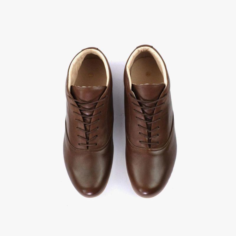 sneaker elegant braun