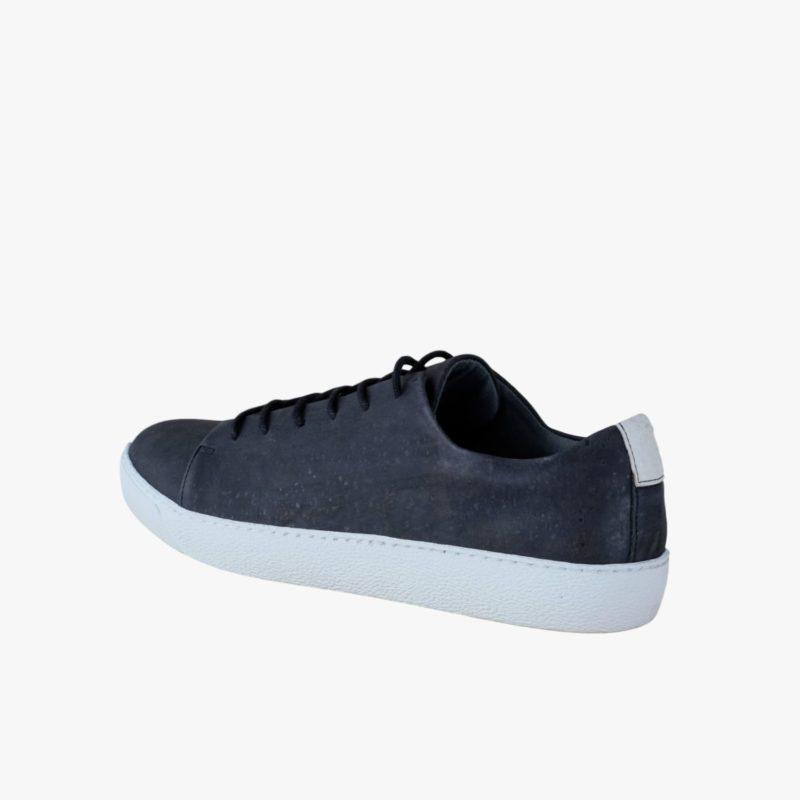 sneaker schwarz weiße sohle nachhaltig