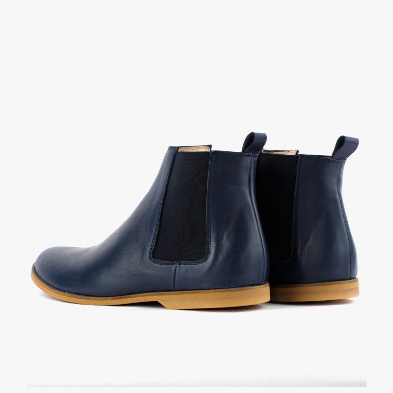 chelsea boots blau damen