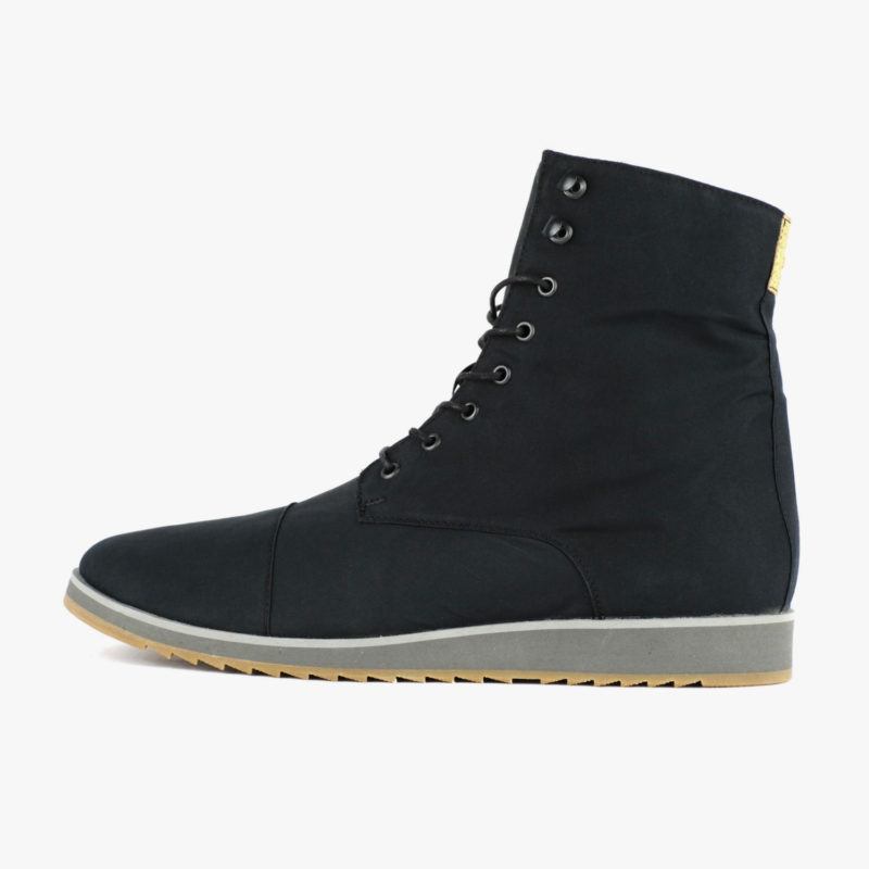 vegan boots black