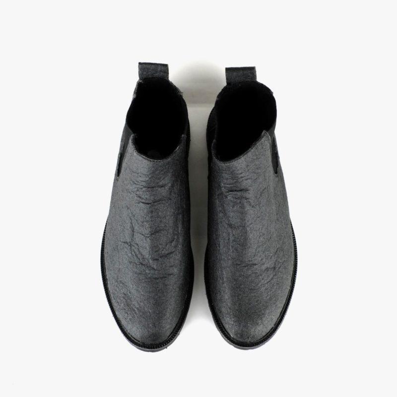 chelsea boots vegan schwarz