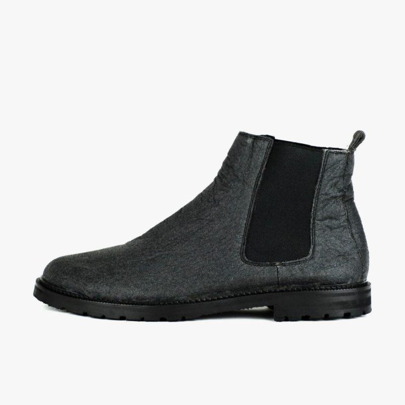 pinatex chelsea boots