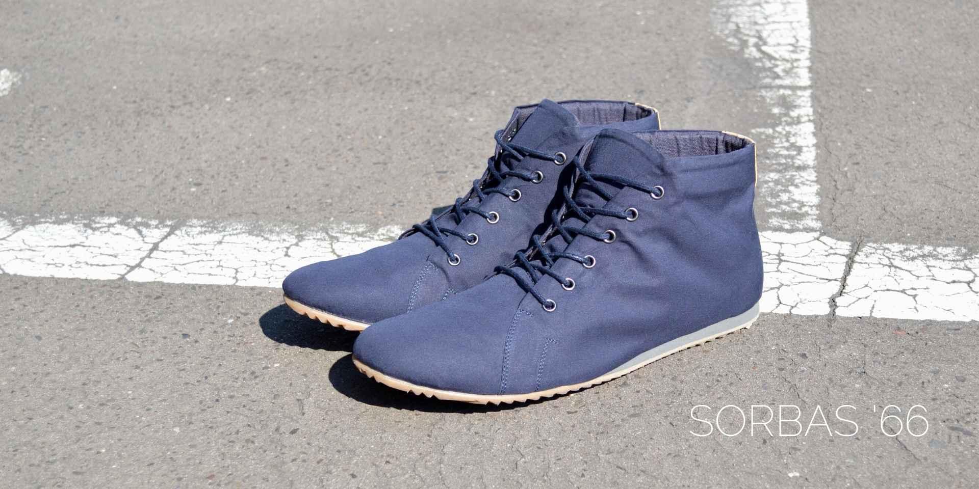 sorbas 66 vegane sneaker blau