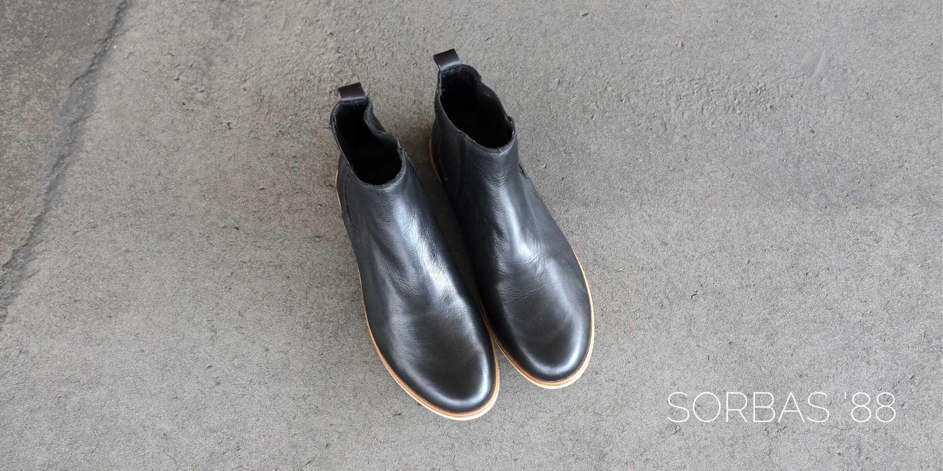 sorbas chelsea boots schwarz