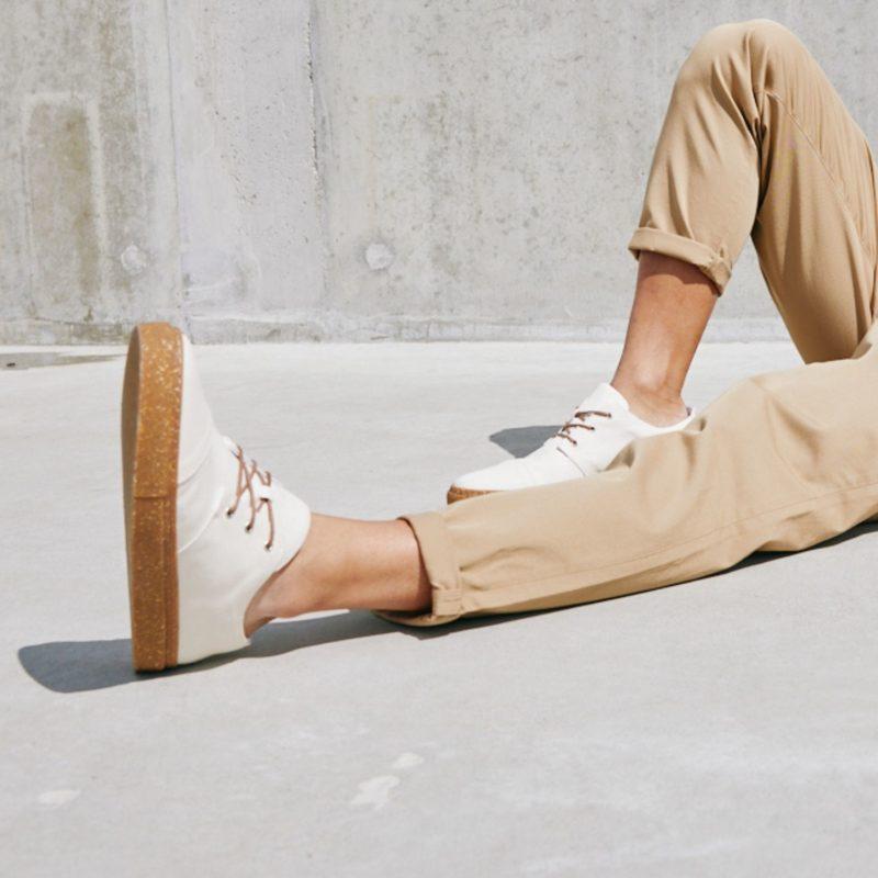 58 weiß faire sneaker vegan