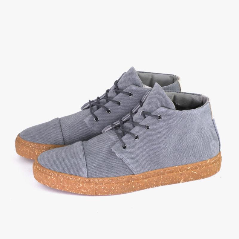 faire sneakers grau