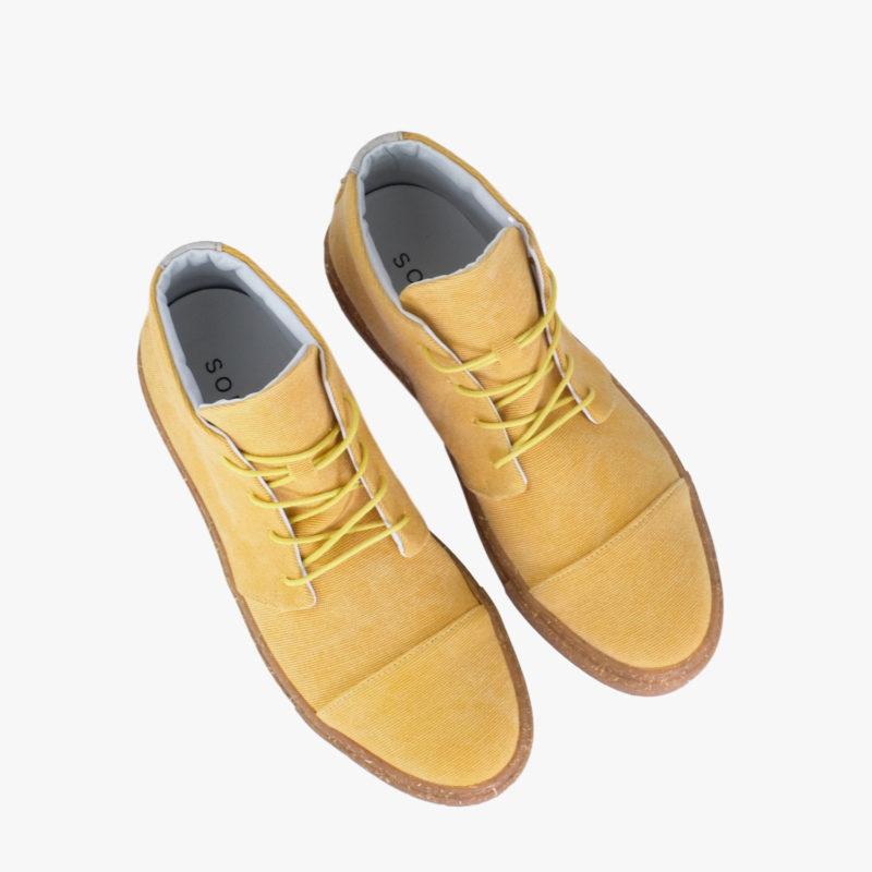 gelbe sneaker nachhaltig