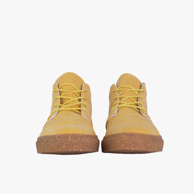 gelbe sneaker vegan