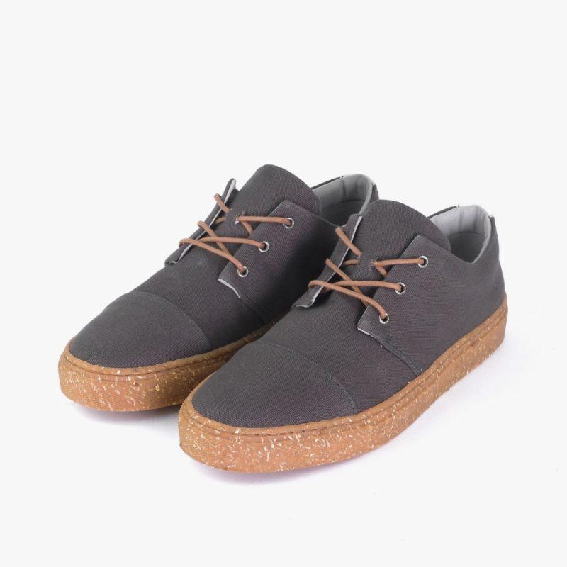 sneakers fair bequem grau