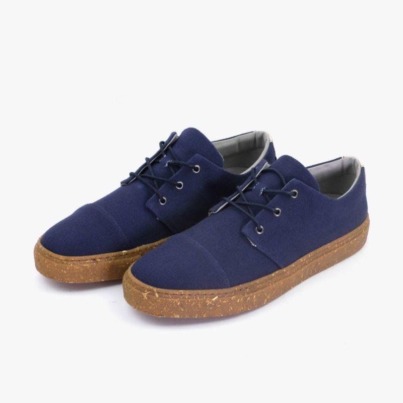 vegane sneaker blau
