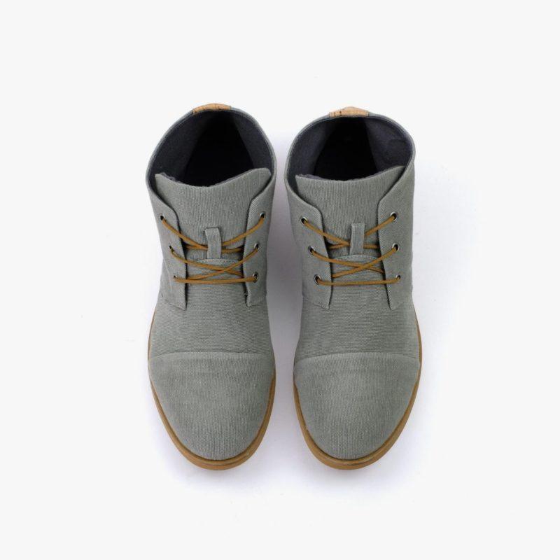 nachhaltige desert boots stoff