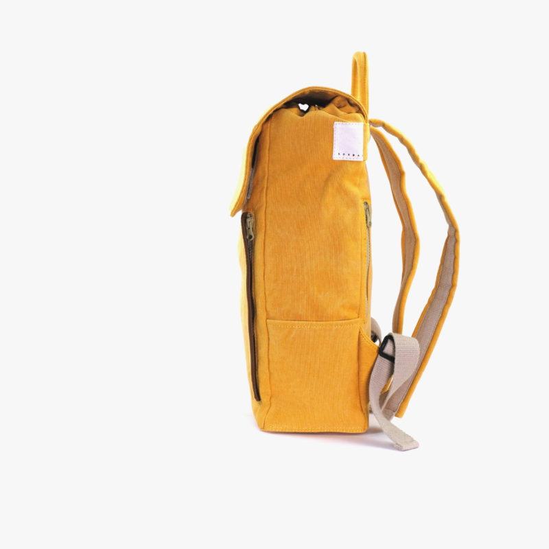 rucksack gelb quadrat