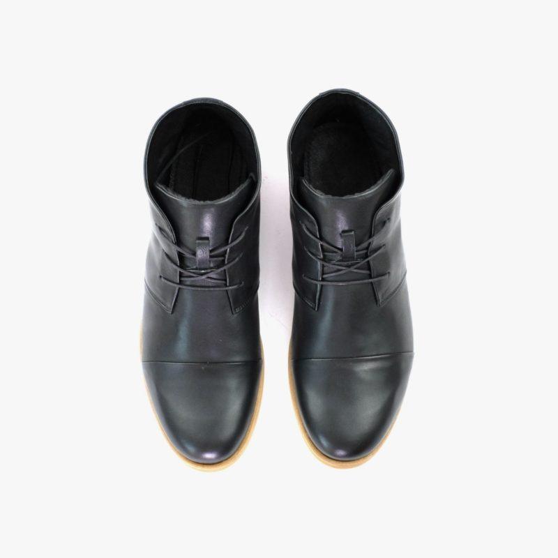 schwarze desert boots herren