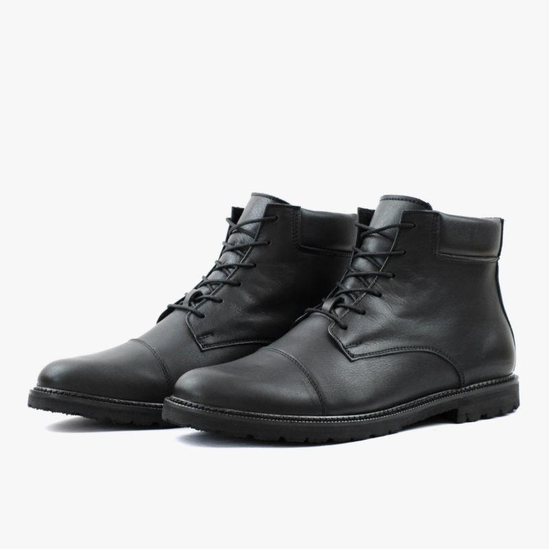 boots schwarz herren