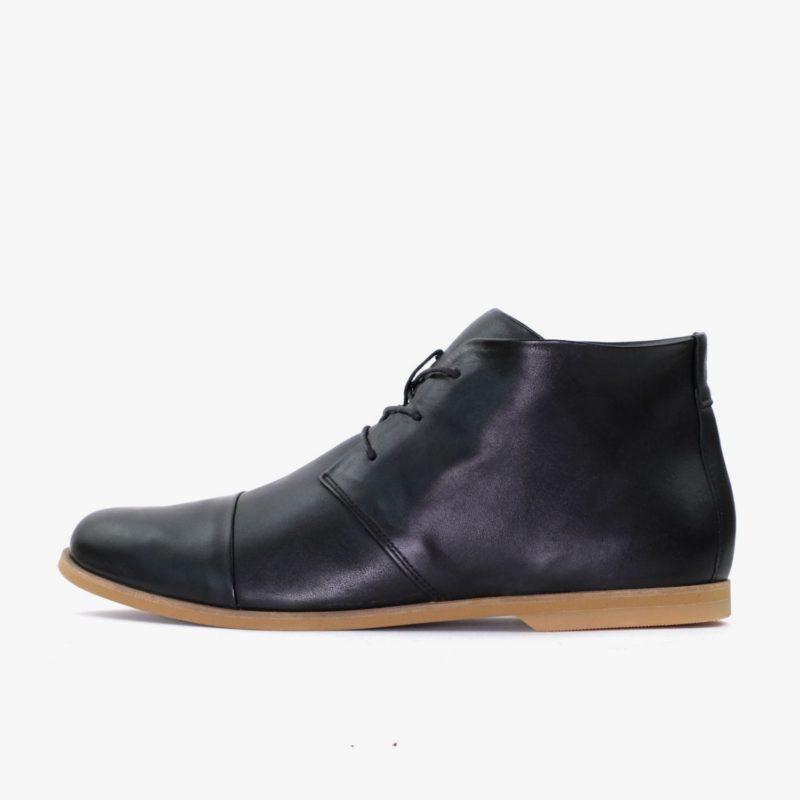 schwarze desert boots damen