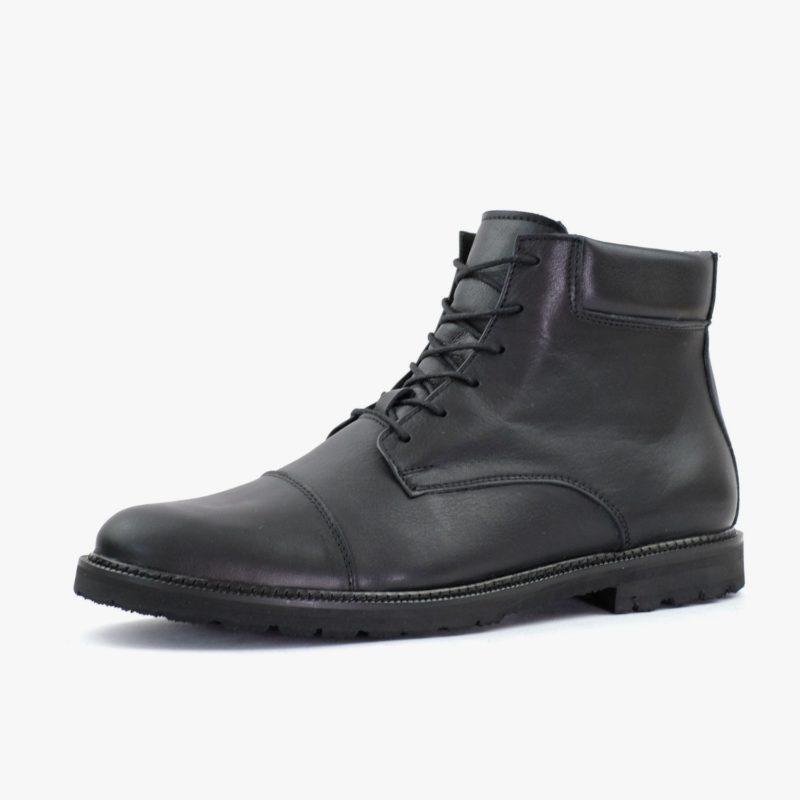 sorbas shoes nachhaltige stiefel schwarz