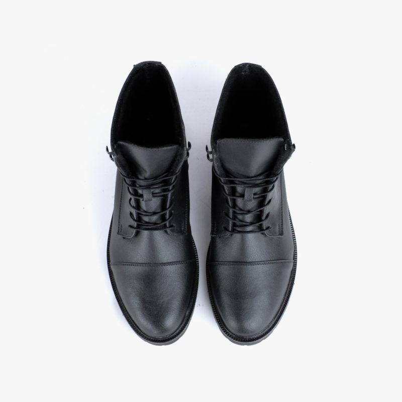 Vegane Work Boots schwarz Damen Herren