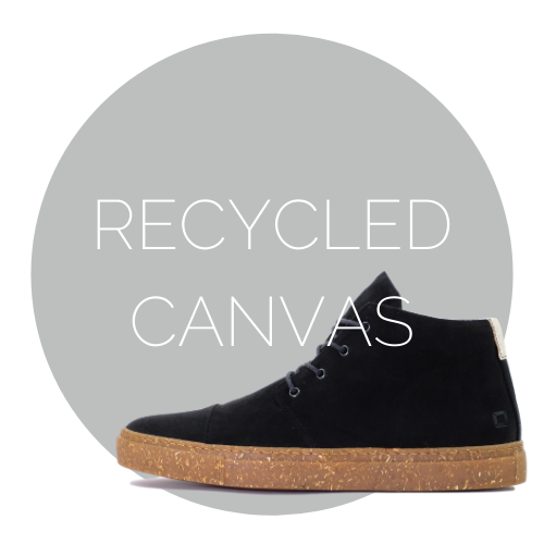 recycled canvas shoes