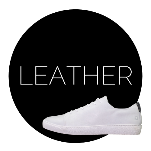 sustainable leather shoes sneakers white